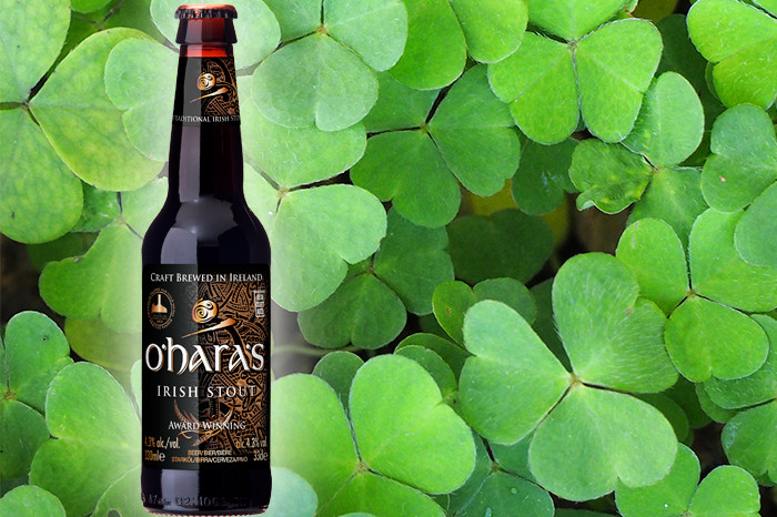 Irish Stout am St Patricksday