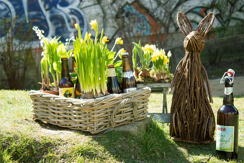 An Ostern eine leckere Bierspezialität trinken